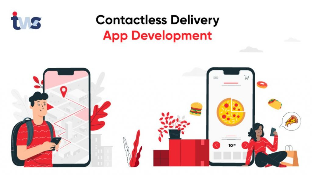 contactless delivery app