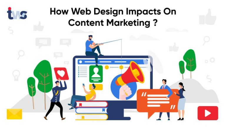 How Web Design Impacts On Content Marketing?