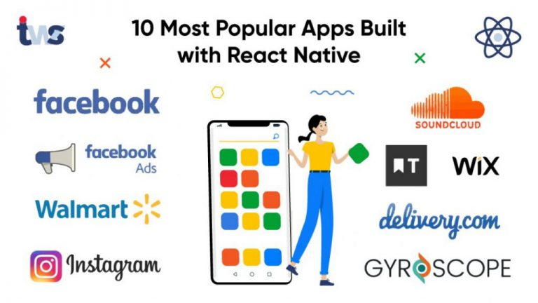 Top 10 Most Popular React Native Apps