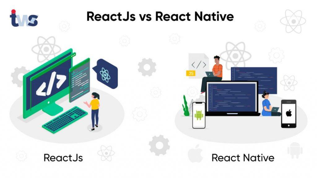 reactjs vs react native
